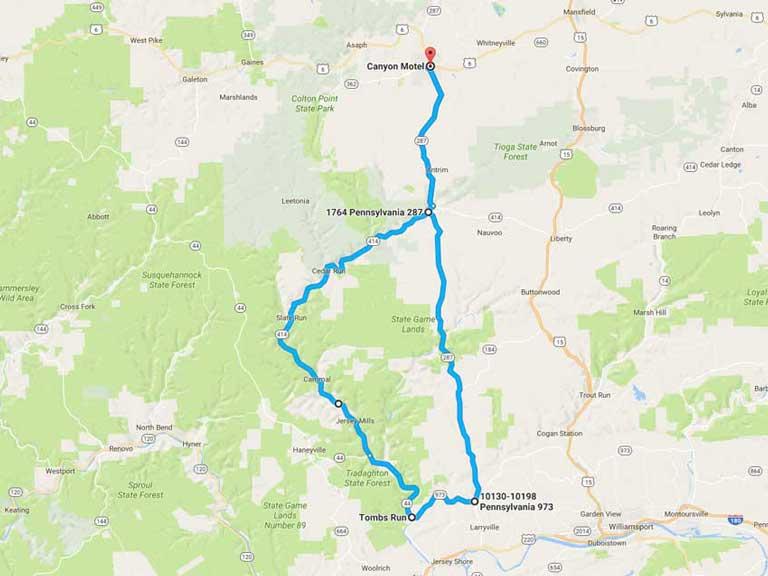 Scenic Routes - Canyon Motel Wellsboro, PA